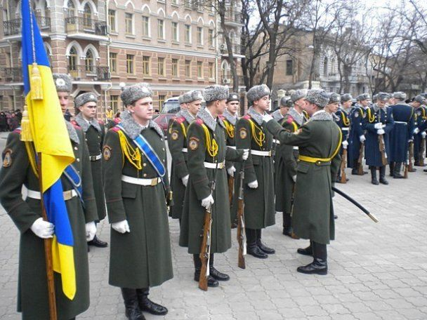 Одеса відзначила річницю Кобзаря під прапорами Сталіна
