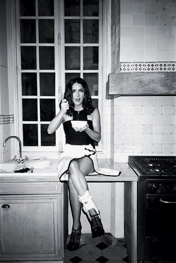 Сальма Хайєк знялась в ролі паризької домогосподарки