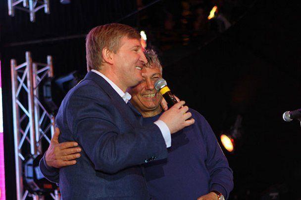 "Ахметов и Фриске поздравили ""Шахтер"" с победой"