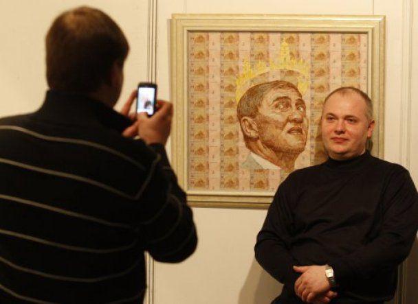 Луценко изобразили на купюрах в образе Че Гевары, а Черновецкого с короной