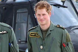 Принц Гаррі склав іспит з управління бойовим гелікоптером