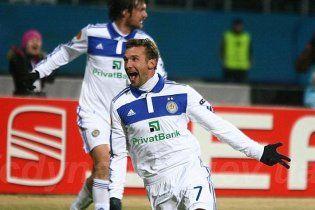 Шевченко визнаний найкращим футболістом у лютому