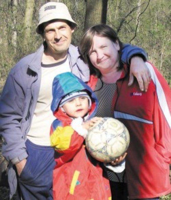 Людмила Лихогляд з родиною
