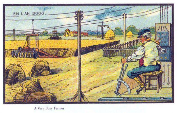 Життя у 2000 році очима людей початку XX сторіччя