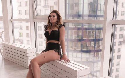Анна Саливанчук топлес похвасталась пышной грудью