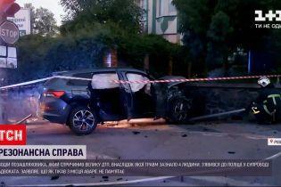 Новини України: водій, який втік з місця ДТП у Рівному, дав свідчення у поліції