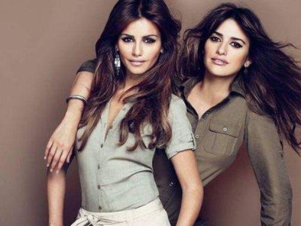 Пенелопа та Моніка Крус рекламують свій одяг