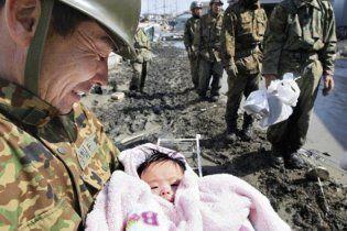 У Японії 4-місячна дівчинка вижила, пробувши 3 дні під завалами