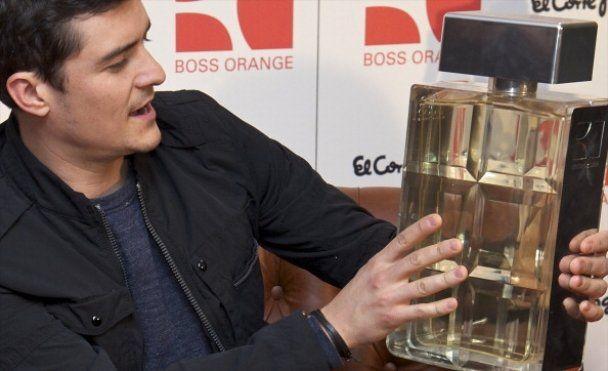 Орландо Блум презентував парфуми Boss Orange