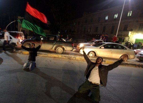 Повстанцы в Бенгази встретили резолюцию СБ ООН салютом