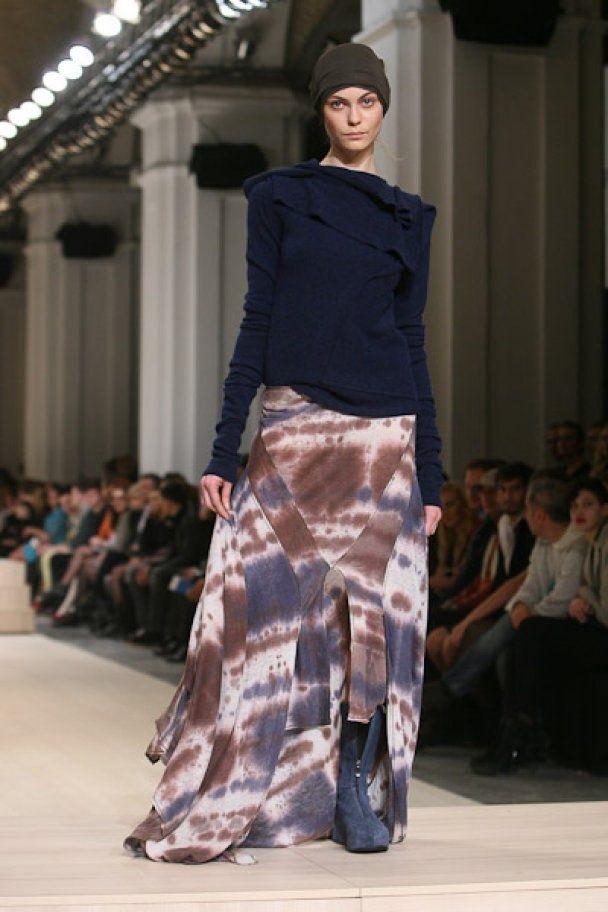 Третий день UFW-2011 завершился показом Кристины Бобковой