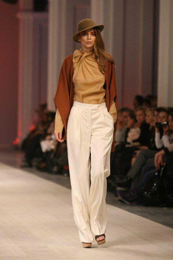 Элегантность и женственность в коллекции Анны Бублик на UFW-2011