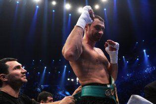 Віталій Кличко визначився з наступним суперником