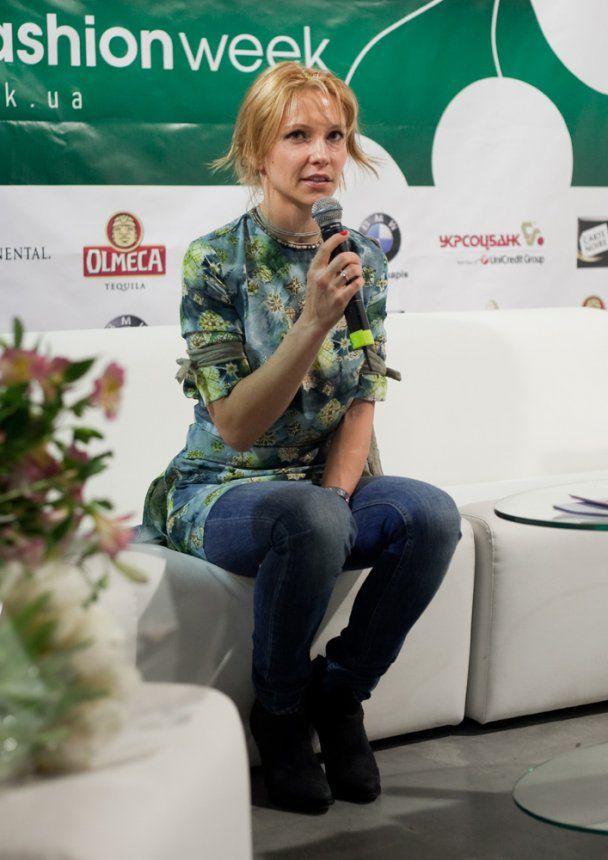 Дружина Льовочкіна показала колекцію на UFW