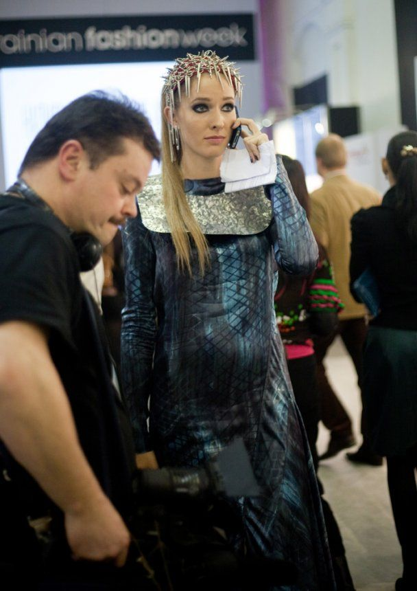 Жена Левочкина показала коллекцию на UFW