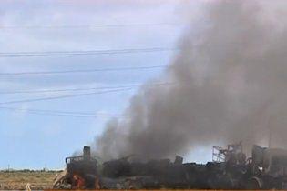 Міжнародна коаліція розбомбила авіабазу військ Каддафі