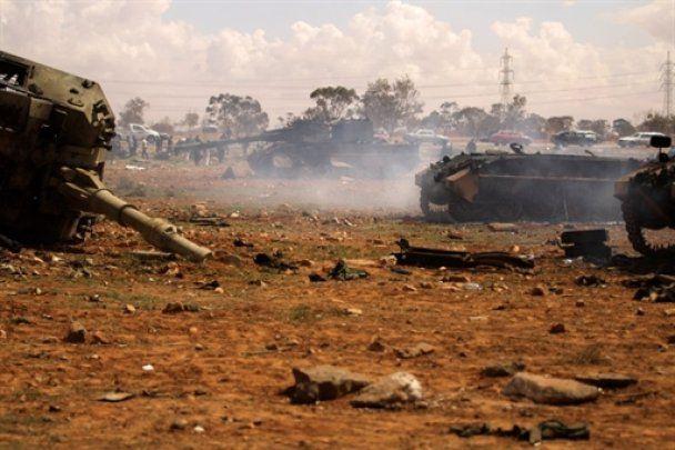 США и Британия ракетными ударами повредили 20 из 22 объектов ПВО Ливии