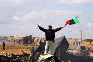 Лівійська опозиція заявила про загибель понад 8 тисяч повстанців