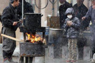 Украинцы отказываются от эвакуации из разрушенной стихией Японии