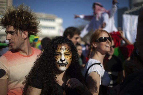 У Єрусалимі провели парад на честь свята Пурім