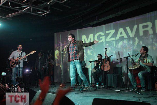 Грузинський гурт Mgzavrebi у Києві заспівав із ТНМК