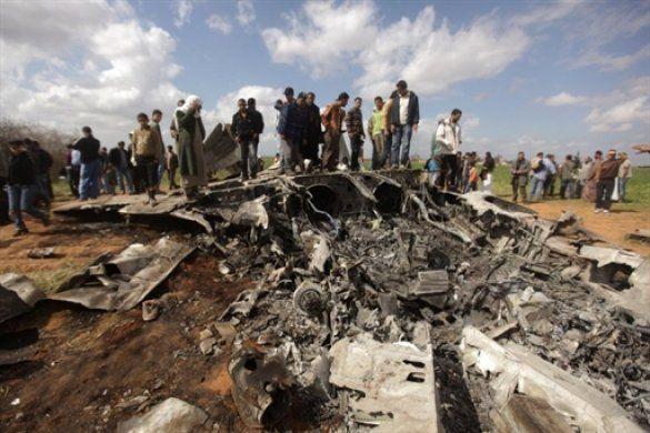 F-15 розбився в Лівії _3