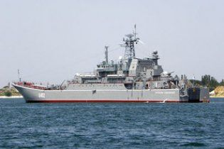 К берегам Ливии прибыл украинский военный корабль