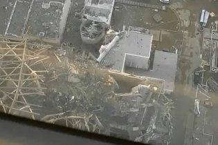 Опубликовано видео разрушенной АЭС в Японии с высоты птичьего полета