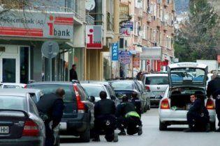 Пограбування банку у Болгарії: злодій розстріляв охорону і взяв у заручники жінок