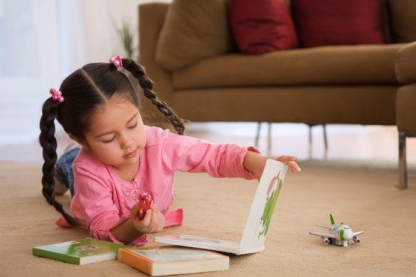 Как научить ребенка любить чтение