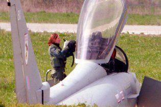 В операции против Ливии участвует женщина-пилот