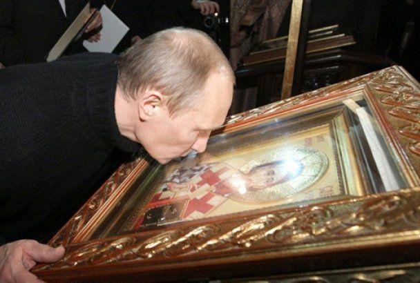"""Путін пішов на футбол з """"Нічними вовками"""""""