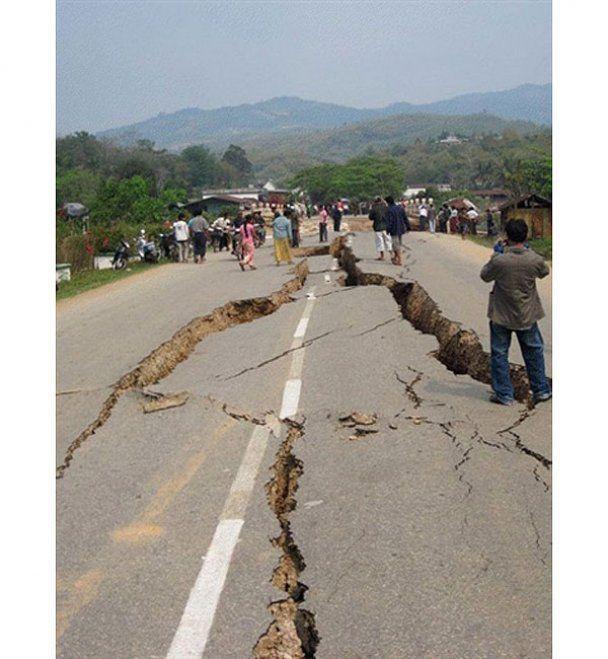 У М'янмі сталося два потужні землетруси