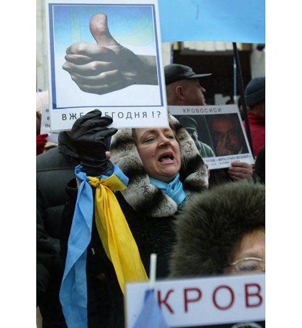 """Автомайдан"" дал Януковичу месяц, чтобы убрать Азарова"