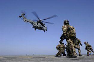 У Каддафи сообщили об уничтожении вертолета НАТО