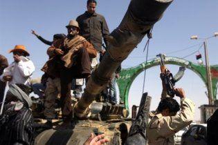 Ливийские повстанцы захватили родной город Каддафи