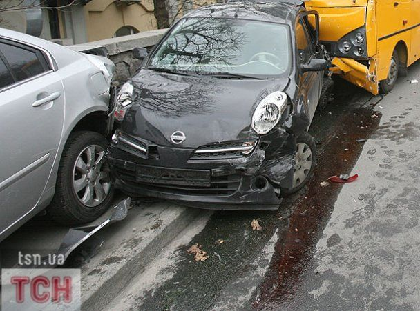 Кровавая авария в центре Киева