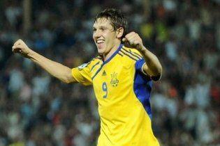 Украина сыграла в боевую ничью с хозяевами Евро-2011