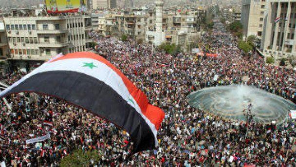 У Сирії армія розстріляла демонстрацію, десятки загиблих