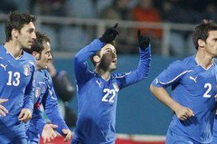 Україна програла Італії у Києві