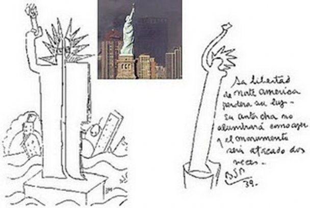 Аргентинский художник в 1930-х годах нарисовал теракт 11 сентября и катастрофу в Японии