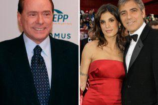 Свидетелем в деле о секс-оргиях Берлускони будет Джордж Клуни