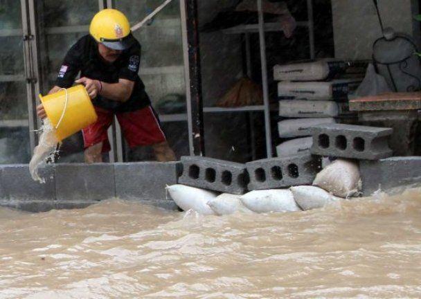 Аномальна повінь у Таїланді