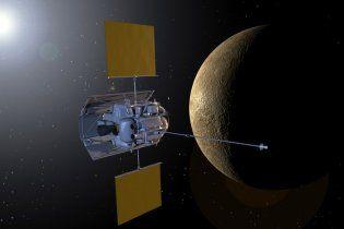 Опубліковано перше в історії фото Меркурія, зроблене з його орбіти