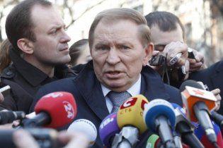 Кучма заявил, что Мельниченко в глаза не видел