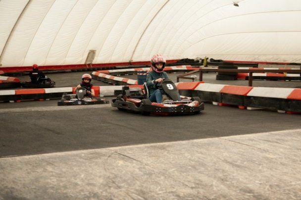 Зірковий чемпіонат з картингу заради безпеки руху