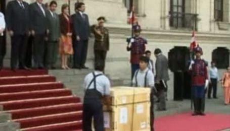 Американцы вернули Перу национальные сокровища