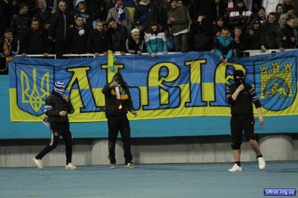 Псевдофанати влаштували бійню на матчі Україна - Італія (відео)