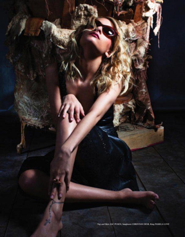 Гламурна фотосесія Ніколь Річі для журналу Block