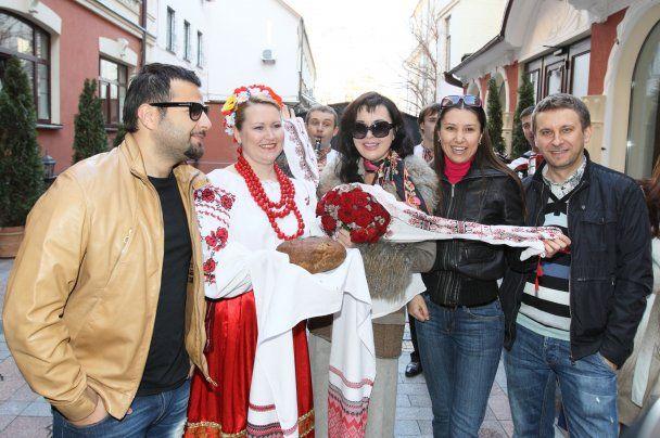 День рождения Анастасии Заворотнюк в Киеве